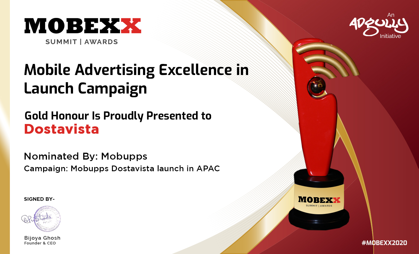 21_Mobile Advertising Excellence in Launch Campaign - Dostavista